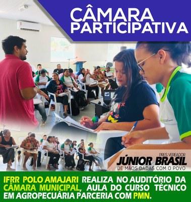 Curso no IFRR Polo Amajari