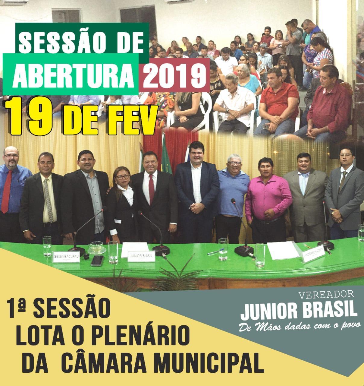 Primeira Sessão 2019
