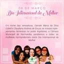 Dia Internacional das Mulheres 2021